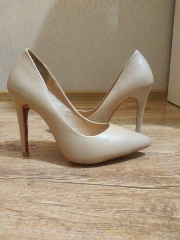 Продаю шикарные туфли 35р нежно бежевого цвета новые !!!! Турция!!!!!