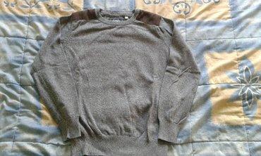 Pamucna-engleska-bluza-domaci-proizvodac-br - Srbija: Bluza za decake br. 122/128 ili br. 8 i br. 134 ili br. 10, ocuvana