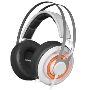 наушники creative в Кыргызстан: Наушники steelseries siberia elite prism (arctic white) Оригинал, не