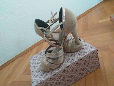 Ženska obuća   Bujanovac: Cipele broj 39. Dva puta obuvene,bez ostecenja
