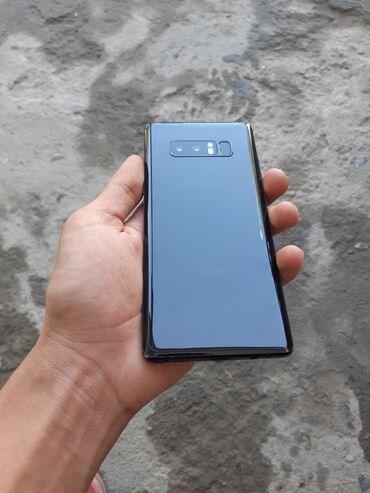 Электроника - Кызыл-Кия: Б/у Samsung Galaxy Note 8 64 ГБ Черный