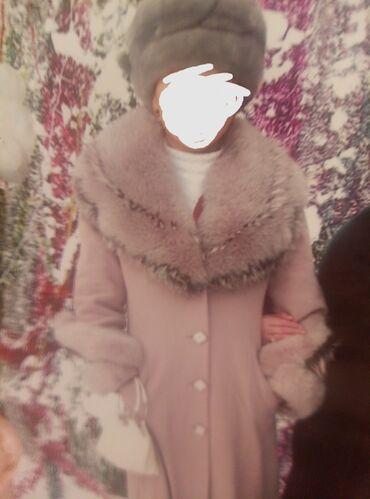 пальто лама в Кыргызстан: Продаю пальто лама оригинал покупала за 12000.ниже колен. Очень хорошо