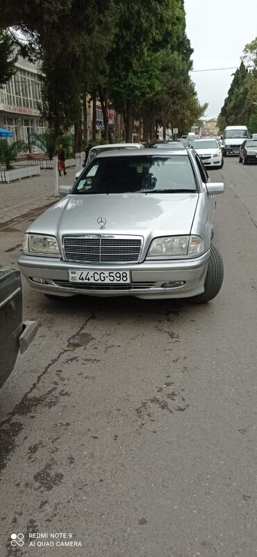10404 elan   NƏQLIYYAT: Mercedes-Benz C 180 1.8 l. 1998   382000 km