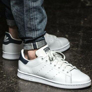 Мужская обувь - Кыргызстан: Adidas Stan Smith Navy ▪︎36-44 размеры•хорошая реплика•бесплатная