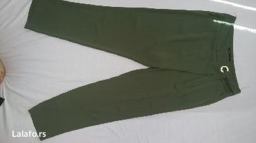 Zenske-pantalone-br - Srbija: Zenske pantalone, br 40, na preklop,interesantan model. Novo