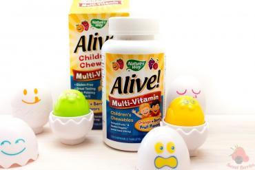 детский мультивитамин в Кыргызстан: Мультивитамины и минералы для детей MultiSaurus со вкусом ягод, виног