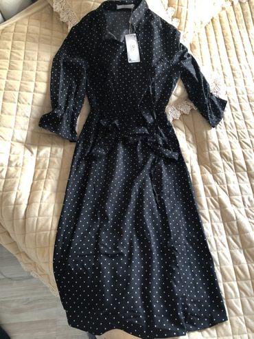 Платье Новое Турция!!! Размер на С-М. Длина ниже колена. Стройнит в Бишкек