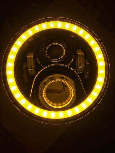 штатный иммобилайзер в Кыргызстан: LED оптика головного света на Toyota Land Cruiser Prado 70, Nissan