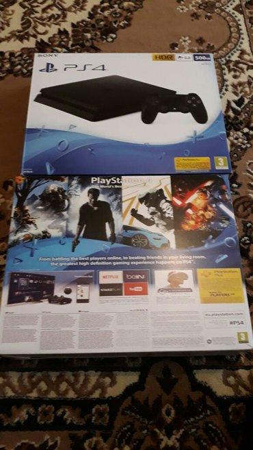 Bakı şəhərində Playstation 4 slim 500gb ps4.