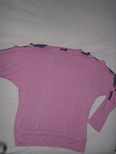Atraktivna zagasitoroze majica sa otvorima duž gornjih delova rukava, - Belgrade