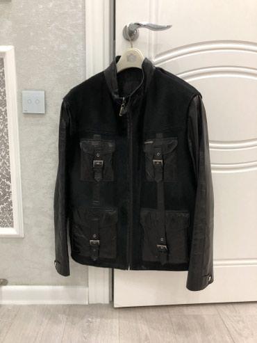 Продаю стильную кожанную куртку со в Бишкек