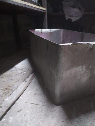 Бочка-для-молока - Кыргызстан: Бак из нержавеющей стали высота 30см ширина 40см длина 70см