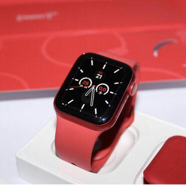 Apple watch 6-44 red en ucuz bizde hazirda elde var!