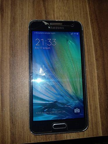 A3 2015 - Azərbaycan: İşlənmiş Samsung Galaxy A3 16 GB qara