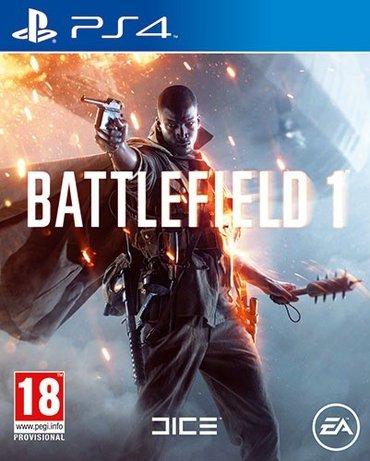Bakı şəhərində Battlefield 1 ps 4