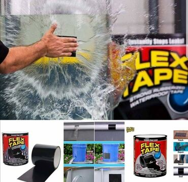 Ostalo za kuću   Kikinda: NAJNOVIJI HIT NA TRŽIŠTU Flex Tape vodootporna gumena traka za