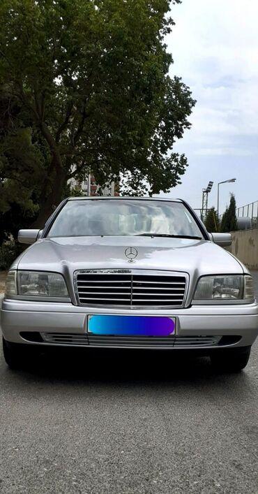 brilliance m2 1 8 at - Azərbaycan: Mercedes-Benz C-Class 1.8 l. 1996 | 50000 km