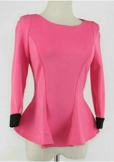 Продаю новую блузку с баской,ткань в Лебединовка
