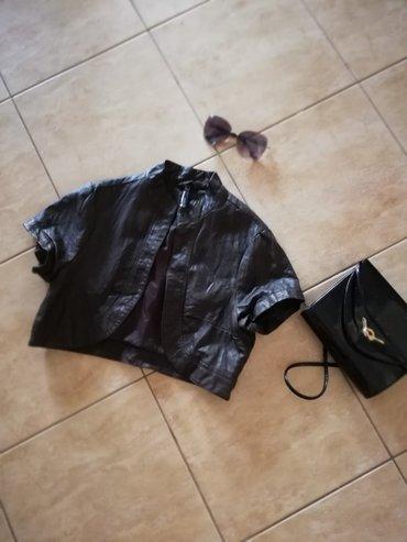 Kozna jakna, kratka, sexy Vel. 36.saljem post espresom - Jagodina - slika 2