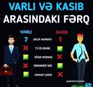 Daşınmaz əmlak - Azərbaycan: Her kese salam olsun! Evdar xanimlara ve ya ikinci ish isteyen