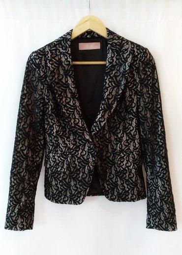 Шикарный пиджак, черное кружево на в Бишкек