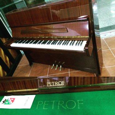 Bakı şəhərində PETROF - tam teze, 3 pedallı piano. Bele  tam yeni veziyyetde piano