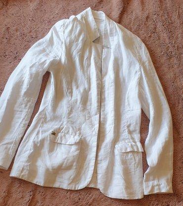 Tiffani laneni sako, kupljen za posebnu priliku, jedanput obučen