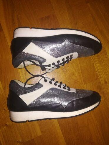 Kozne cipele - Srbija: Patike kozne, dobro ocuvane, bez ostecenja, kupljene u Shoe Star-u