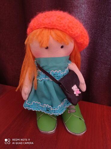 продадим куклу в Кыргызстан: Продаю интерьерную куклу ручной работы, 25 см. Ножки и ручки