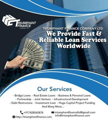 Triumphant Finance Company LTD is a modern and dynamic boutique financ