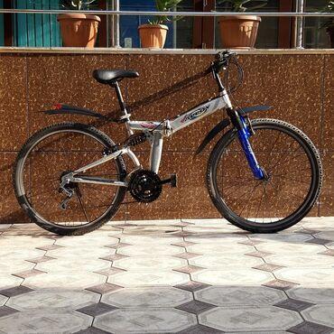 Корейский Велосипед  Тип: горный Колесо:26 Скорость:21 Рама: складной
