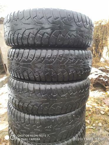 шины 175 65 r14 в Кыргызстан: Резина зима 175/65 R14 комплект 4шт б/у