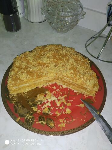 Торт .напалион ириска