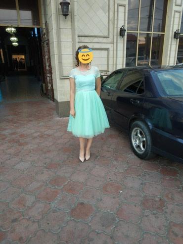 Продаю платье :берюзового цвета,44 в Каинды