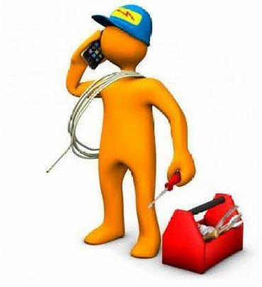 Вызов на дом электрика - Кыргызстан: ЭЛЕКТРИКА электрик. ДИМА. Вызов электрика электрик электро-монтаж