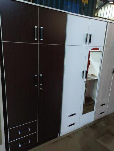 Новый двух дверные шкафы. Ламинат Россия