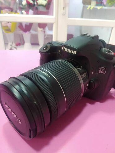 фотоаппарат-60d в Кыргызстан: Очень срочно Продаю фотоаппарат canon 60d 18-200mm в отличном