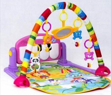 Donji ves - Srbija: Piano bebi gimnastika: - Stimuliše viziju, slušanje, dodir- Muzika
