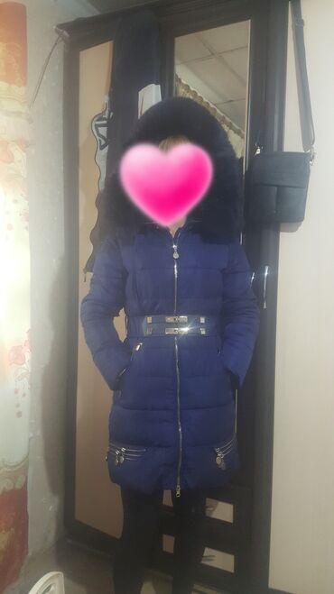 Куртки - Кыргызстан: Продаю куртку и шубу размер 42 44 состояние хорошее .село ленинское
