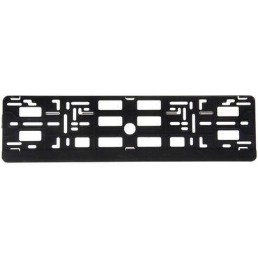 Рамка для автомобильного номера, чёрная (продажа по 2 шт) ⠀Рамка для