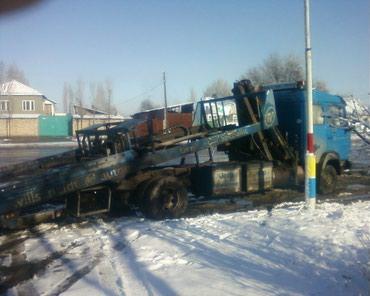 Продаю эвакуатор с краном: мерседес в Бишкек