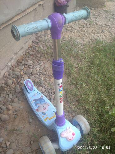 Детский мир - Ак-Джол: Самакат сатылат 1500 Пачти новый не ползывалес калеса светится