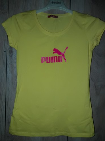 футболка rock в Кыргызстан: Футболка puma - 300  крестьянка zara - 250 майка - 250 платье(туника)