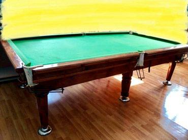Бильярдные столы в Лебединовка: Продаю бильярдный стол 2.90*1.60 . самовывоз