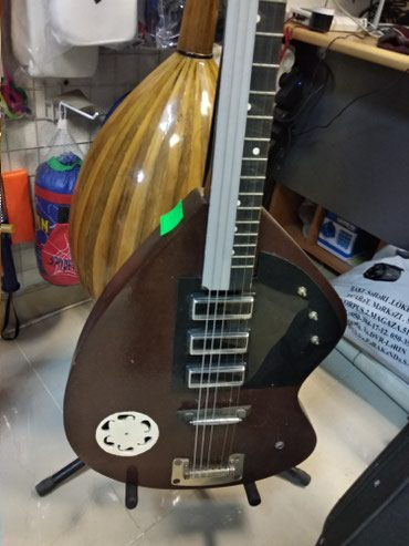 elektron termometrlər - Azərbaycan: Gitara elektro
