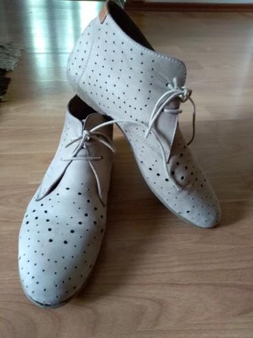 Ženska obuća | Prijepolje: Cipele kozne. Letnje, sa koznim licem i postavom. Nosene jedne sezone