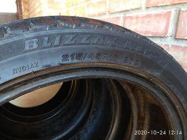 диски воссен 17 в Кыргызстан: Продаю комплект шин 215/45/17