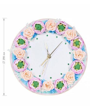 Часы из фоамирана своими руками. Набор для творчества