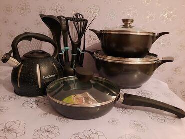 повар на дом цена in Кыргызстан   ВЫЕЗДНЫЕ БАНКЕТЫ: Прекрасный набор🥳🥳🥳Цена набора: 7700сом Если по отдельности то цены