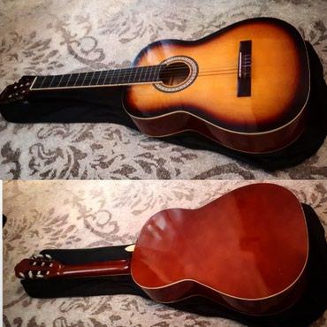 Xaçmaz şəhərində Arenas firmasının 2ci əl amma yeni kimi klassik gitarası çantası
